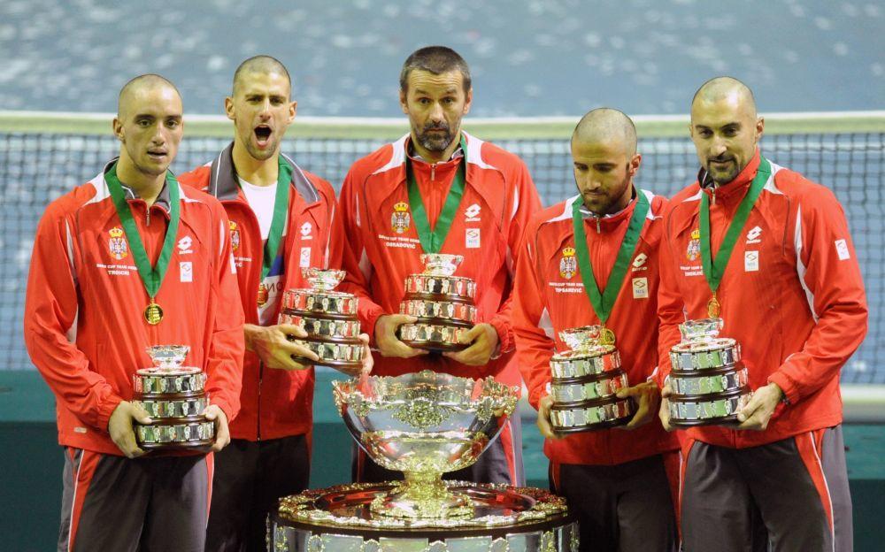 Bio je član Dejvis kupa Srbije