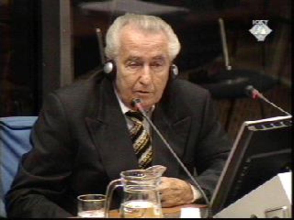 Marković kao svedok u Hagu