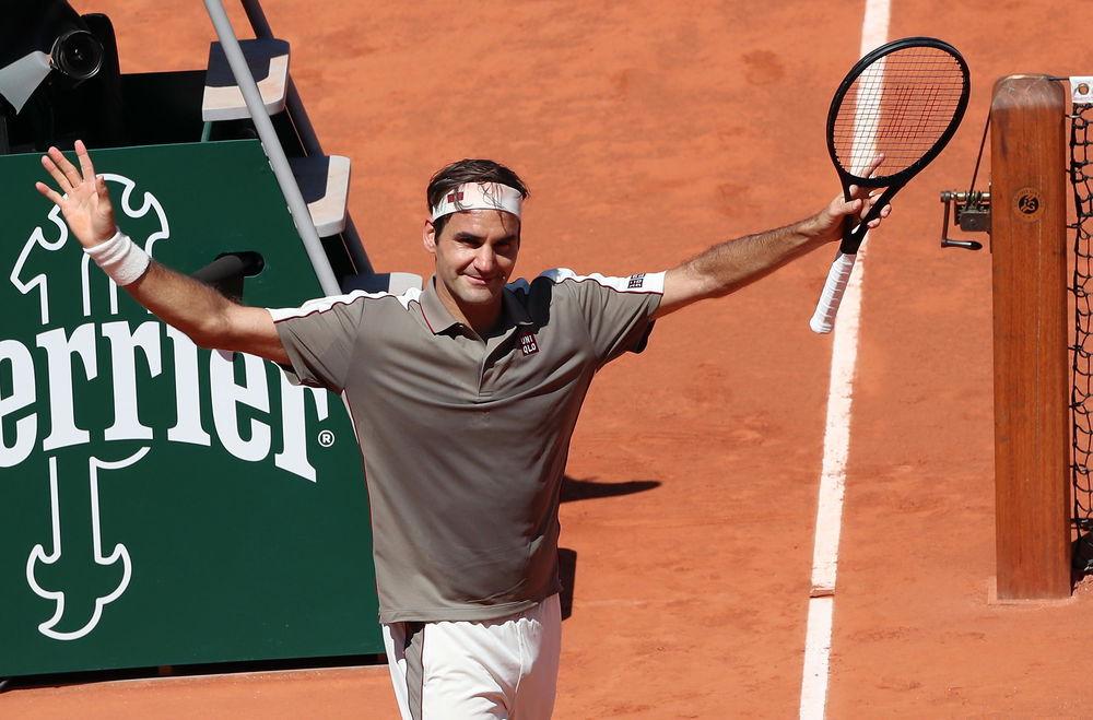 Na treningu je pobedio Federera