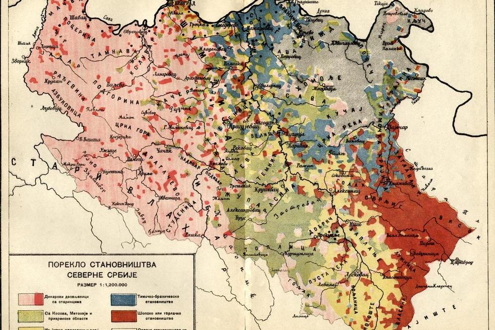 Ova Mapa Objasnjava Odakle Su Srbi Zaista Poreklom Pronađite Svoj