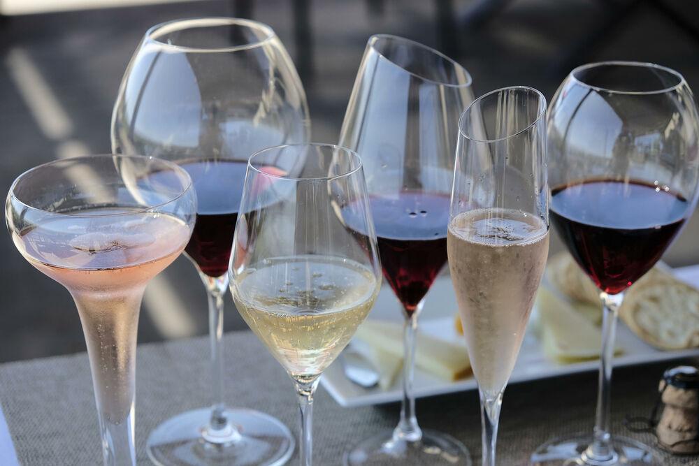 Alkohol, Pića, Čaše, Vino, Šampanjac