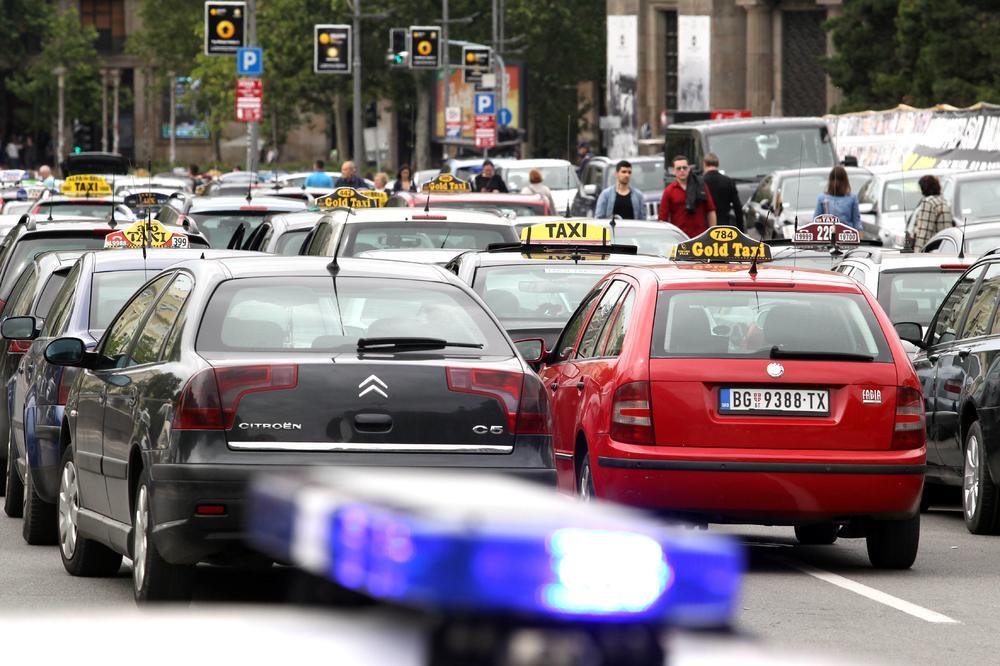 Kisa Ih Nije Zaustavila Taksisti I Danas Blokirali Beograd Ovo