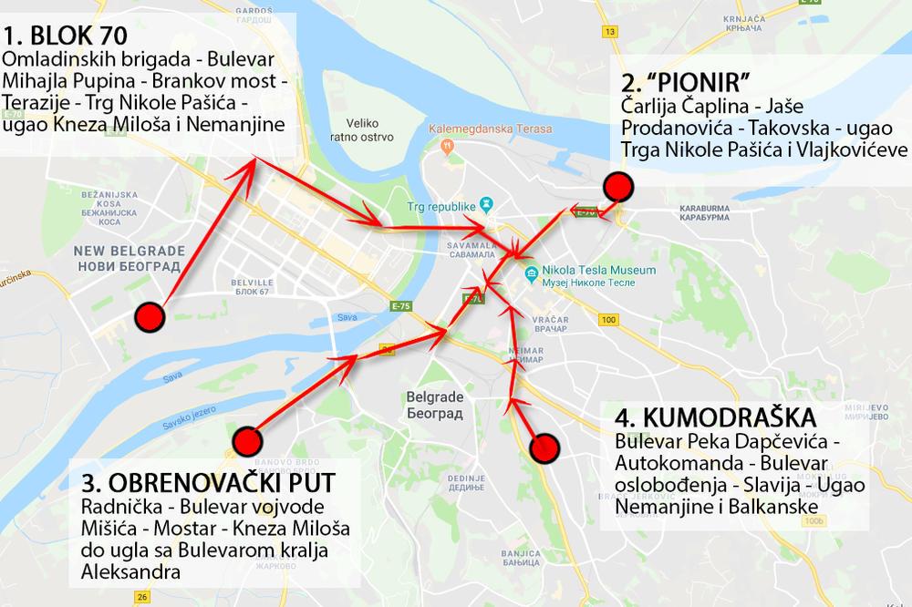 Beograd Ce I Danas Biti U Blokadi Taksisti Organizuju Protestnu