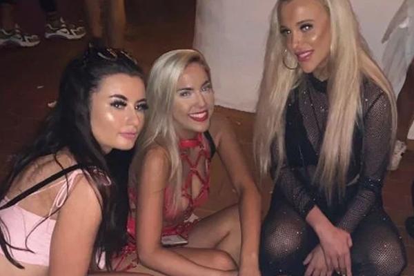 Bachelorette orgija party