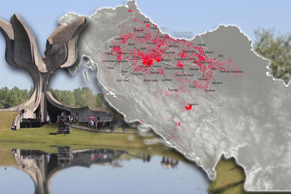 Krvave Mape Otkrivaju Sav Uzas Jasenovca Ovo Su Tragovi Noza