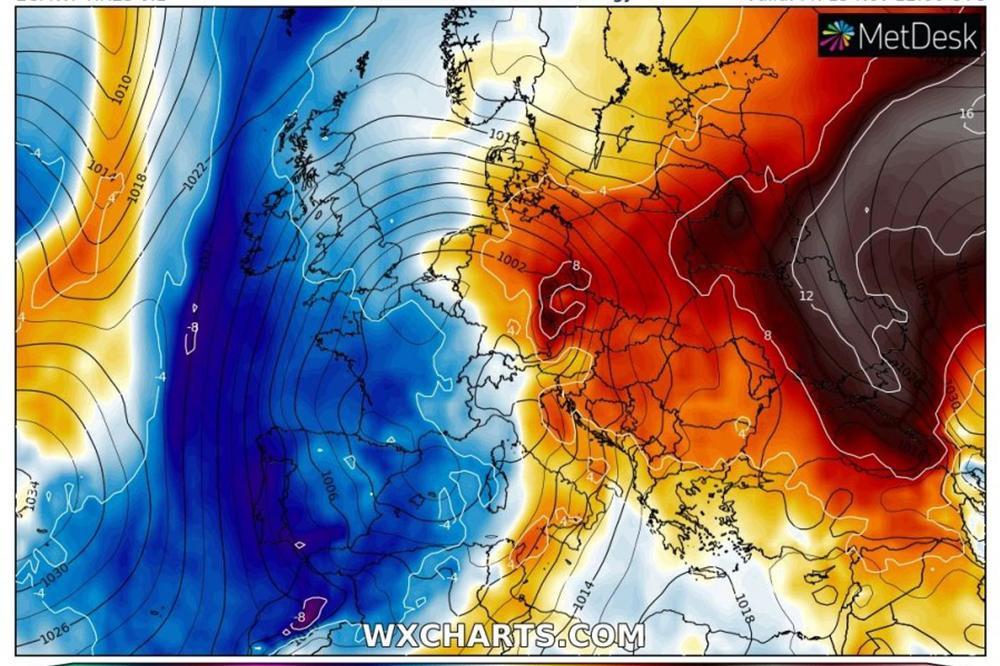 Snažan Toplotni Talas Dolazi Na Balkan Ovo Je Najnovija