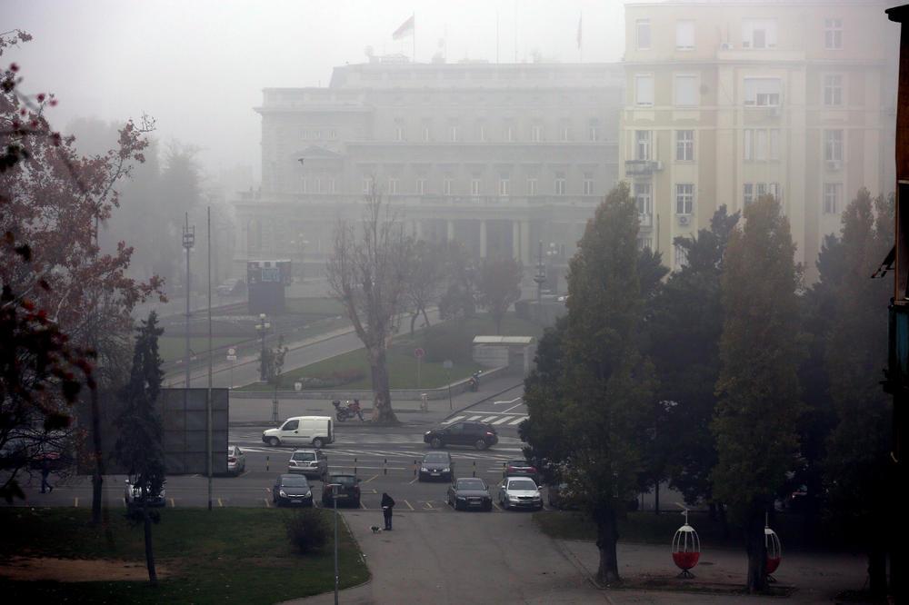 Jutros Se U Beogradu Nije Video Prst Pred Okom Vremenska
