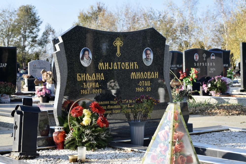 Ovde počiva Biljana Mijatović