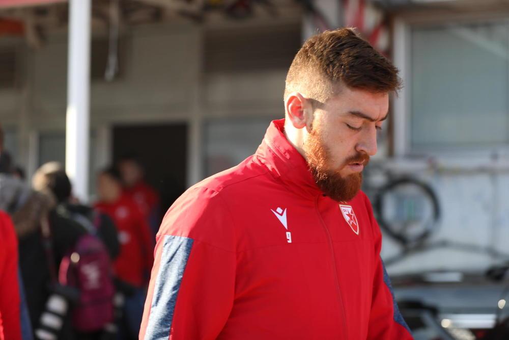 Milan Pavkov, napadač C. Zvezde