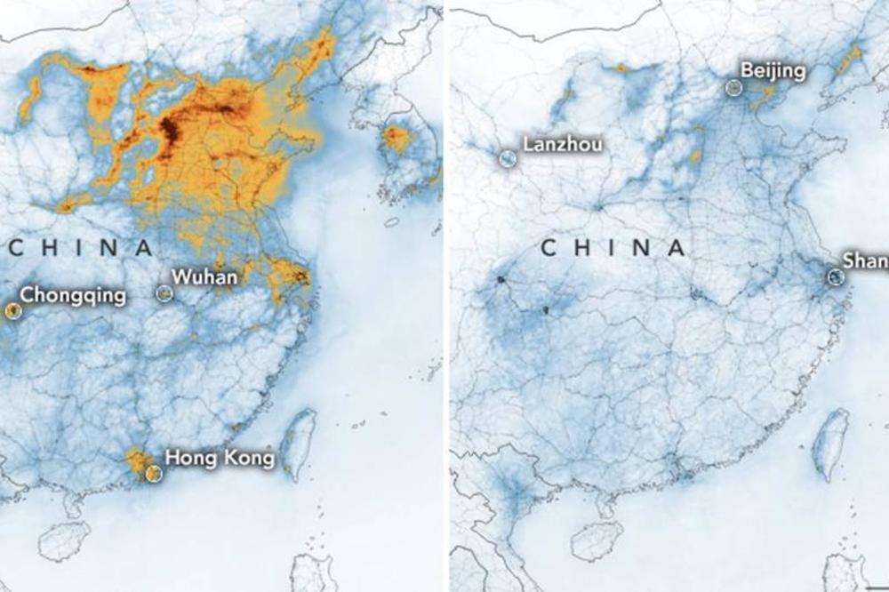 Ova Mapa Prikazuje Neverovatnu Pojavu Koja Se Dogodila Zbog