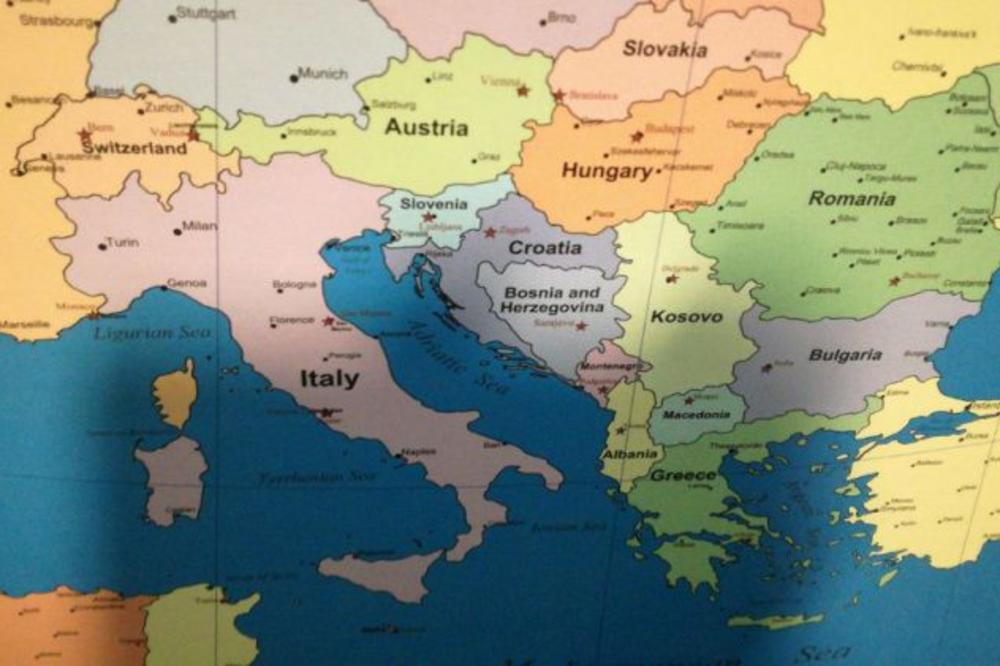 Ovakvu Uvredu Srbija Nikad Nije Dozivela Danci Stampali Kartu