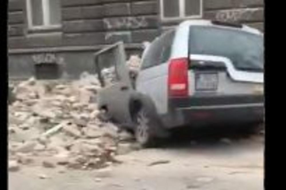 Strasan Zemljotres Pogodio Zagreb Ljudi Na Ulicama Grad Je U Rusevinama Tesko Ostecena Katedrala Video