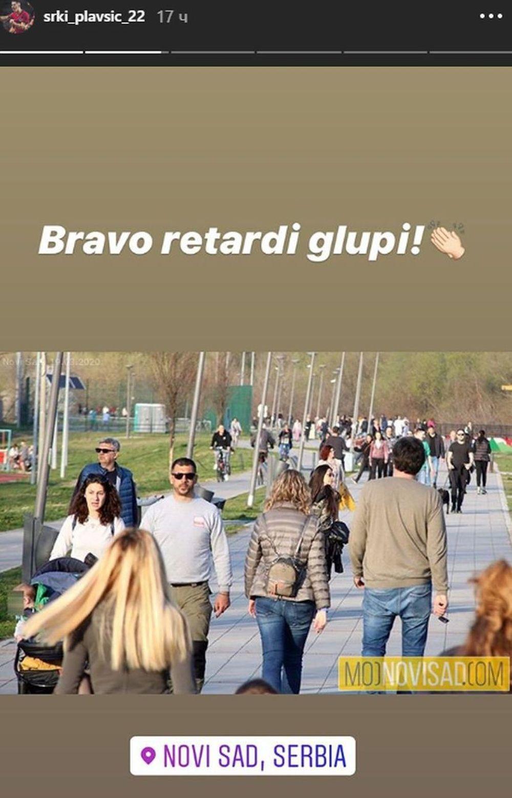 Fotografija iz Novog Sada je izazvala bes kod Srđana Plavšića
