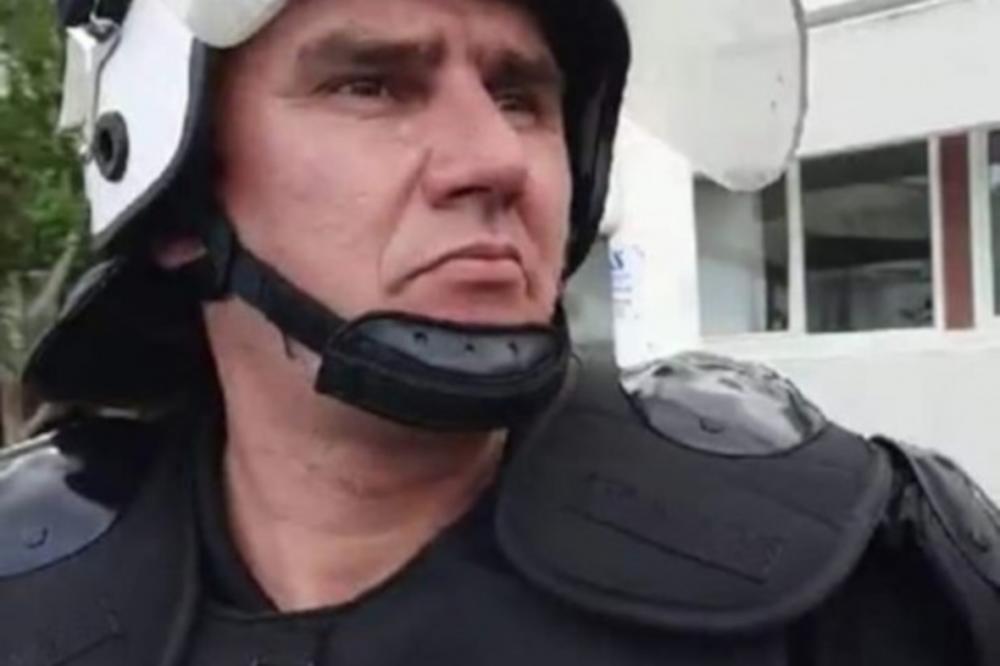POLICAJAC BORIS JANKOVIĆ JE DAO OTKAZ: On je danas ustao protiv ...