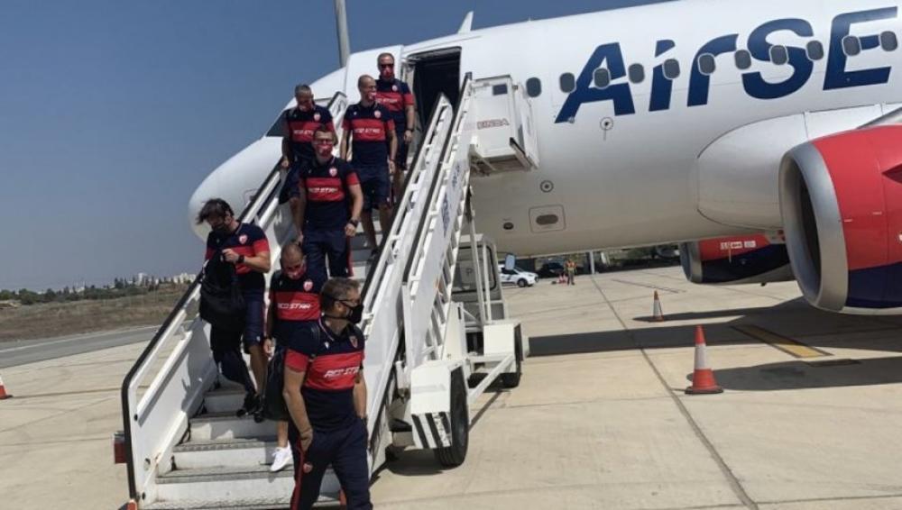 Fudbaleri Zvezde stigli na Kipar