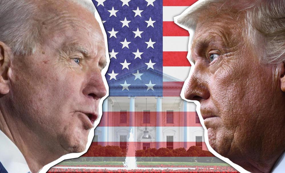 Donald Tramp, Joe Biden