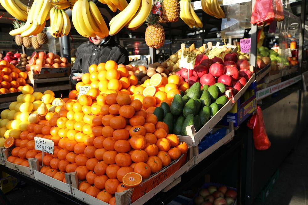 pijaca, Povrće, Voće