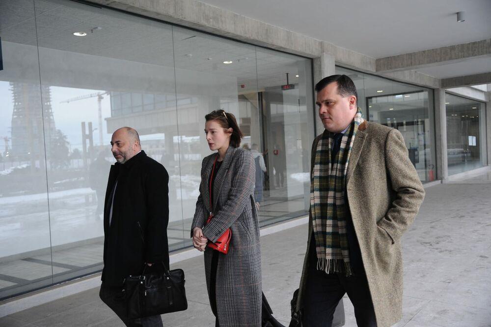 Milena sa advokatima