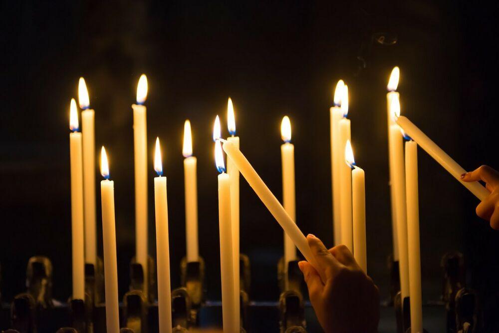 Smrt, Sveće, sveće