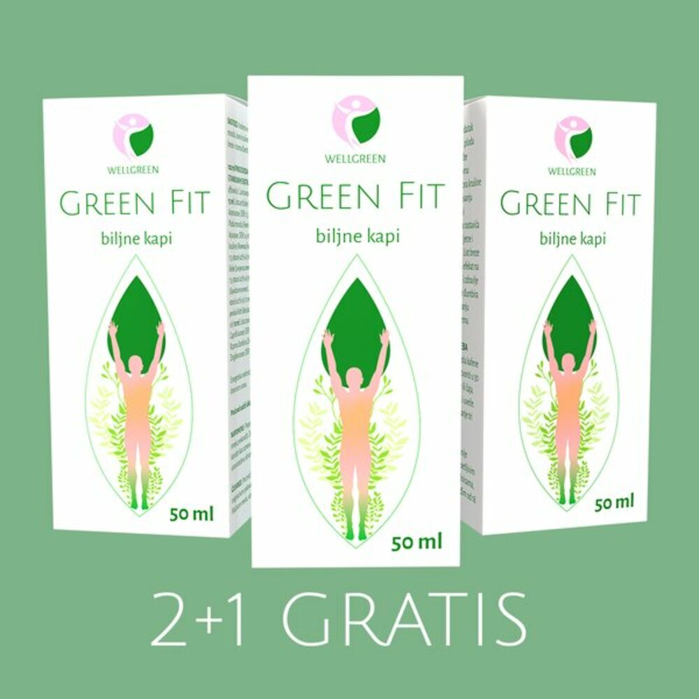 Green fit biljne kapi