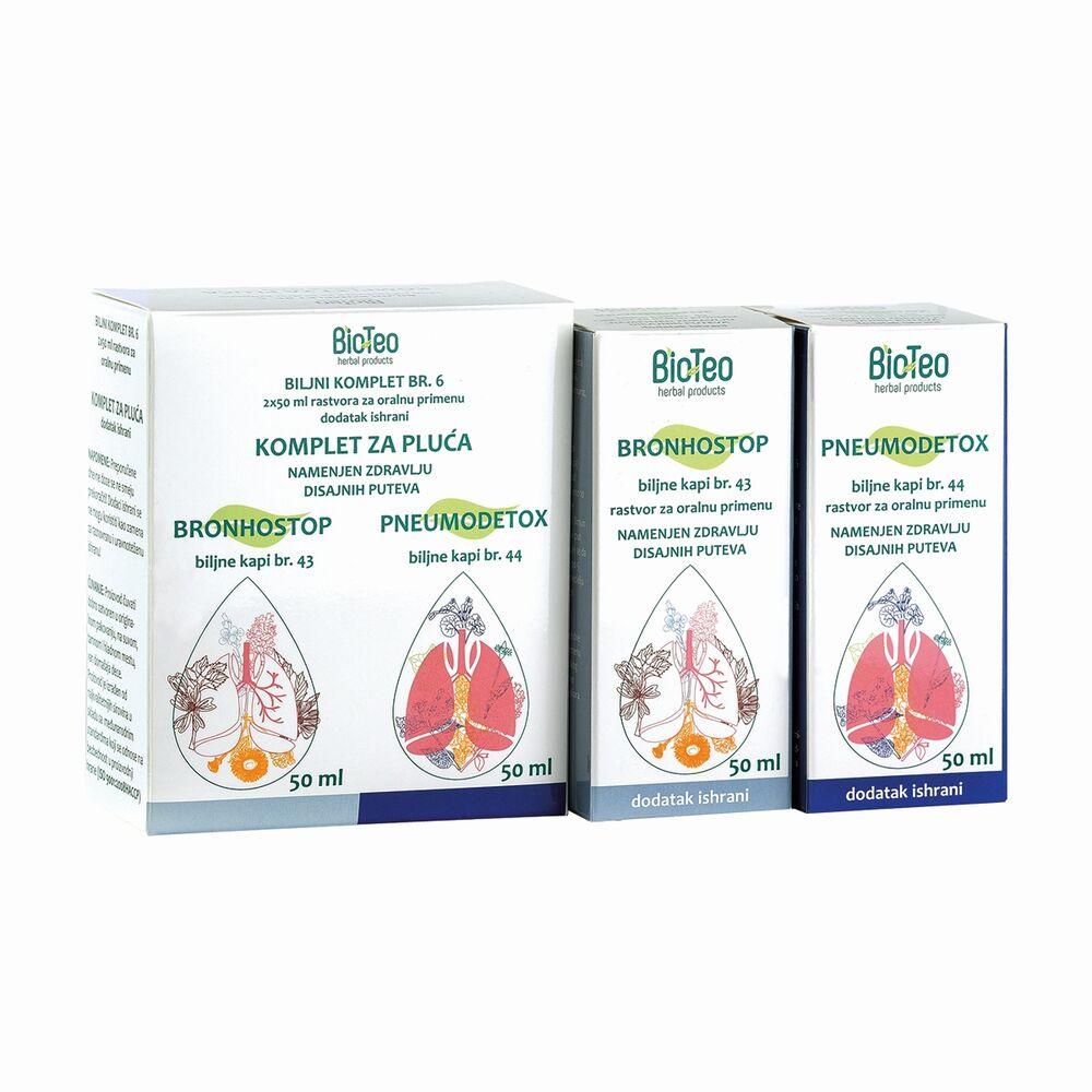 Biljni komplet za pluća