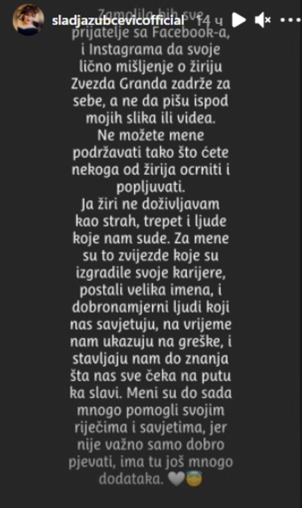 zabava, estrada, zvezde granda, Slađa Zubčević